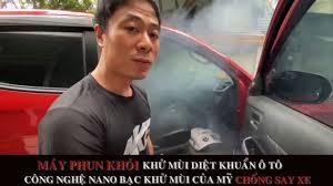 MÁY PHUN KHÓI KHỬ MÙI DIỆT KHUẨN Ô TÔ MARKEL TẶNG KÈM 5 CHAI DUNG DỊCH – Khử  trùng, khử mùi hôi, làm sạch nhanh sáng bóng cho xe hơi