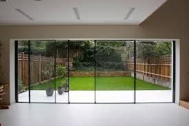 glass panel aluminium sliding door patio