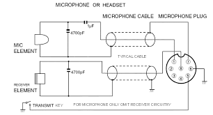 roll your own mic fig 1 schematic of typical mic or handset for mic only