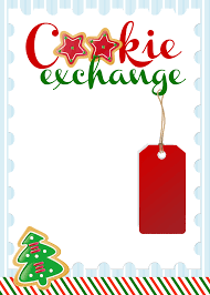 free printable christmas invitations templates cookie exchange party free printables how to nest for less