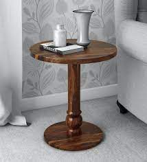 harper solid wood end table in