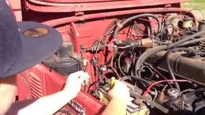 tank ii 5 bypassing the rats nest of wires and starting the fj40 after six years of sitting