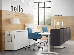 ikea office designer. Ikea Galant Desk In White With Wooden Storage Also Table Lamp For Modern Office Design Designer