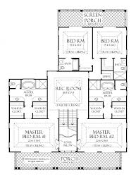 two master bedrooms house plans