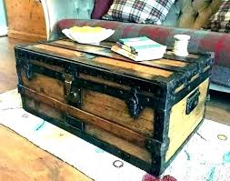 wooden trunks for furniture trunk coffee tables chest antique chests australia