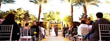 las vegas garden wedding venues outdoor wedding ceremony near palm trees