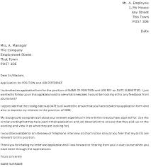 Folow Up Letter Follow Up Letter To A Job Application Icover Org Uk