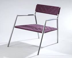 Woven metal furniture Lowes Remarkable Metal Chair Design These Woven Seats Integrate Traditional Shaker Tape Weaving Patterns With Modern Benjamin Rugs Furniture Remarkable Metal Chair Design These Woven Seats Integrate