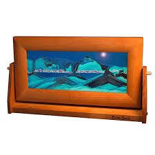 moving sand pictures ocean blue med