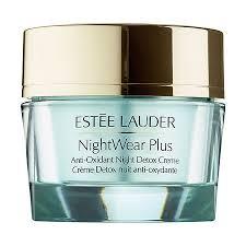 <b>Estée Lauder NightWear Plus</b> Anti-Oxidant Night Detox Creme ...