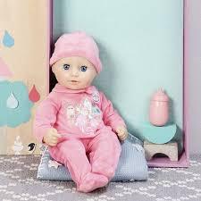 <b>Кукла</b>-девочка <b>Zapf Creation my</b> first <b>Baby Annabell</b> с бутылкой 36 см