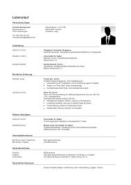 Lebenslauf Vorlage Schweiz Word 2014 Muster Bewerbung