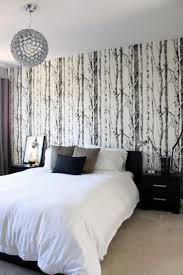 Tree Design Wallpaper Living Room 17 Patterned Wallpapers To Make Your Walls Pop