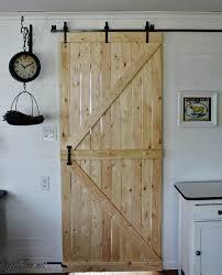 diy barn door our diy barn door knick of time