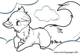 Small Picture Minecraft Coloring Pages Wolf Anime Free Printable vonsurroquen