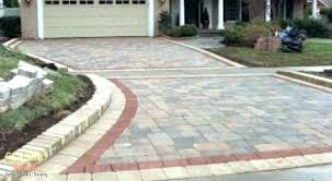 pavers cost per square foot installed installation cost installation cost driveway cost per square foot installation