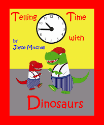 childrens book telling time with dinosaurs bedtime story beginner readers kids books collection values book education habitats early reader