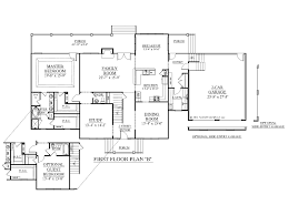 house plan b the albany b st floor plan house plans house plans two story master first floor