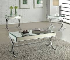 coffee table reece modern mirrored top coffee table glasetal coffee table canada