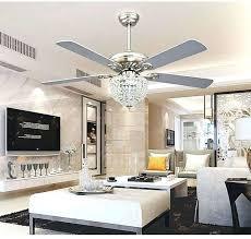 crystal chandelier fan modern ceiling fans with lights and remote elegant crystal chandelier ceiling fan light