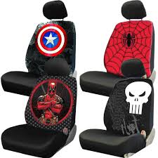 new marvel comic characters avengers deadpool universal seat cover for car truck