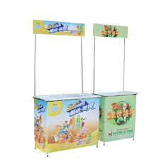 Promotional Stands Displays Mesmerizing Table Size 3232cm Aluminium Supermarket Poster Portable Display