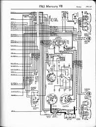 Mercury wiring diagrams the old car manual project 1963 v8 meteor right page 1956 mercury wiring diagram