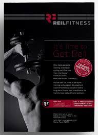 Reil Fitness Flyer Design | Typework Studio | Ny Branding & Design ...