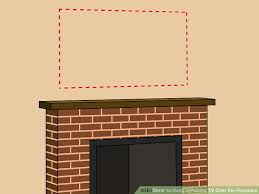 image titled hang a plasma tv over the fireplace step 2