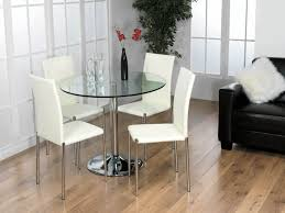 decoration modern round glass and chrome table 2 seater uk pertaining to brilliant small dining