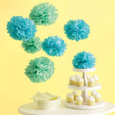 Tissue Balls Party Decorations 1000cm 100pcs Tissue Paper Pom Poms Wedding Decoration artificial 48