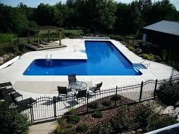 inground pools shapes. Inground Pool Shapes L Shaped And Sizes Pools