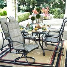 aluminum outdoor dining chairs bay set rustproof frame pewter finish 7 piece sets for 8 aluminum outdoor dining chairs