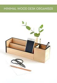 simple desk organizers. Fine Organizers Wood Desk Organizer This Simple Is Easy To Make It Requires Just Paint Glue  And A   Inside Simple Desk Organizers