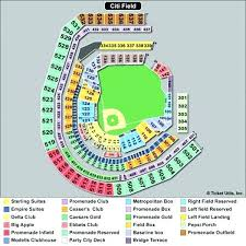 Citi Field Seating Map Field Seat Map Also With Numbers