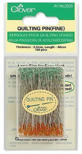 Quilting Pins (Fine) & Clover Quilting Pins (Fine) Adamdwight.com