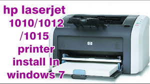 how to install hp laserjet 1010 printer on windows 10