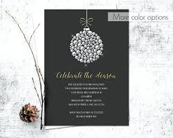 Corporate Holiday Party Invitations As Drop Dead Invitation