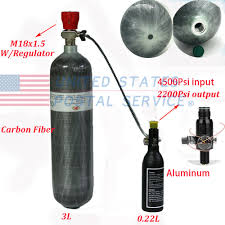 details about m18x1 5 ce 3l high tank air cylinder 0 22l air bottle with 2200psi regulator us