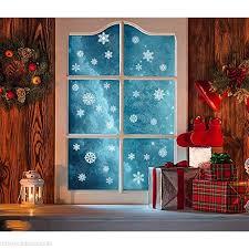 Sayala 270 Stück Fensterbild Wunderschöne Schneeflocken