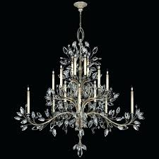 fine art chandeliers clearance also arts lamps chandelier crystal laurel collection for