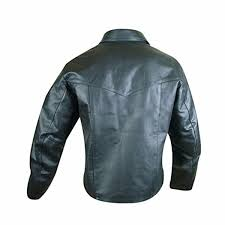 black leather pullover shirt pull1