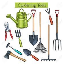 gardening tools stock vector 96521514