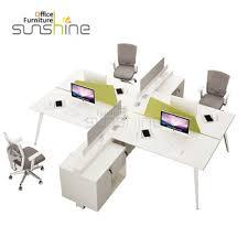top quality office desk workstation. Top Quality Office Furniture Modern 4 Seater White Color Workstation Desk