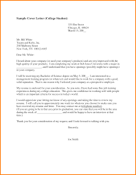 College Student Resume Cover Letter Free Resume Example And