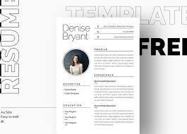 Minimalist Resume Template Free Download Resumekraft
