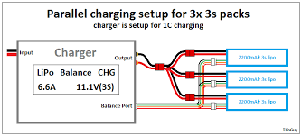 rc wiring diagrams and such tjintech parallel charging charger setup