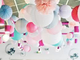 Our Rustic Barn DIY Wedding White Paper Lanterns Sheer Drapes Paper Lanterns Wedding