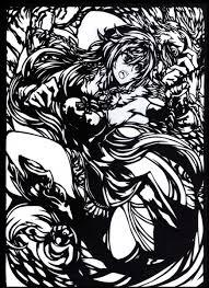 切り絵紅美鈴手甲 龍金 さんのイラスト ニコニコ静画 イラスト