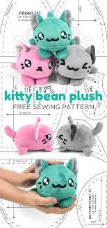 Plush Pattern Classy Free Pattern Friday Kitty Bean Plush Choly Knight